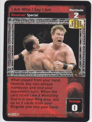 Raw Deal I Am Who I Say I Am JBL played