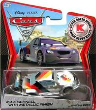 Disney Pixar Cars 2 Metallic Finish Max Schnell K-mart Cars Day 9 Special Deco