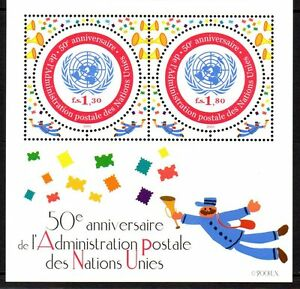 UN - Geneva 2001 50 years UN mail-service Mi. Block 16 MNH - Enschede, Nederland - EBay UN - Geneva 2001 50 years UN mail-service Mi. Block 16 MNH Our lots start at just €0,25 Combine up to 10 lots for single postage rate! Used singles/sets show an example of the cancellation; we supply these from stock, so the a - Enschede, Nederland
