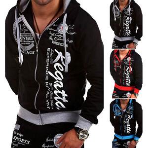 Mens-Print-Winter-Slim-Hoodie-Warm-Hooded-Sweatshirt-Coat-Jacket-Outwear-Sweater