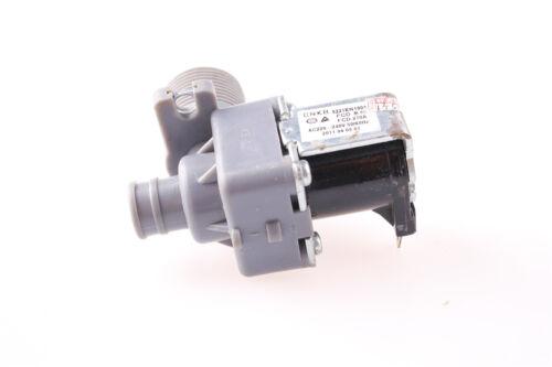 Ángulo de 90 Solenoide Válvula 2 terminales de entrada de agua lavadora FCD270A