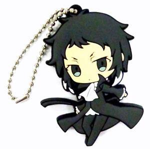 Bungo Stray Dogs Anime Mascot PVC Strap Keychain Charm ~ Doppo Kunikida @9855