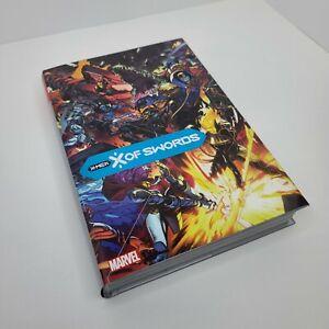 X Of Swords X-Men Hardcover OOP DM Variant Graphic Novel Omnibus Marvel