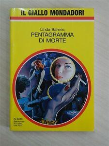 Livre-le-Giallo-Mondadori-Linda-Barnes-Pentagramme-de-Mort-N-2349-2-1994-OMA204