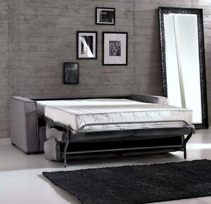 Divano letto dandy rete elettrosaldata materasso in poliur memory foam ebay - Divano letto ebay ...