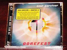 Gorefest: Soul Survivor + Chapter 13 2 CD Set 2005 Nuclear Blast NB 1489-2 NEW