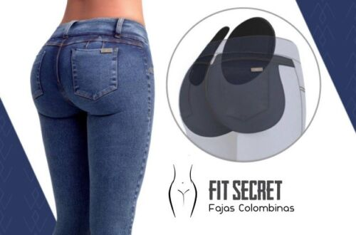 Butt Lifter Nalga Lifts Jeans Med Colombiando Støbt Filler Hale Naturligt fCrqfd