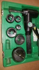 New Listing7906sb Greenlee Quick Draw 90 Hydraulic Punch Driver Kit 12 2