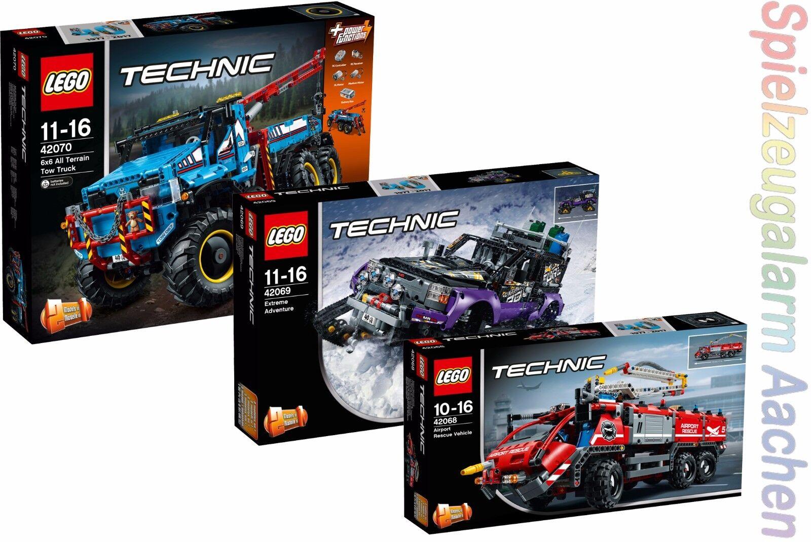 LEGO TECHNIC 42068 42069 42070  Extremgeländefahrzeug Extreme Adventure N8 17