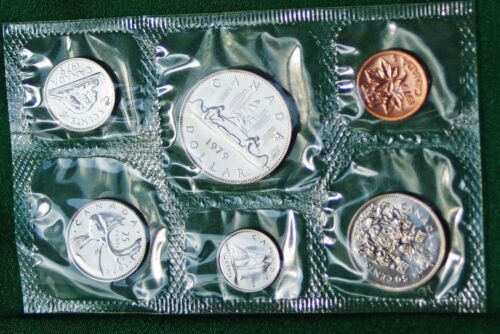 1979 Canada Prooflike PL set 6 perfect coins in org packaging and certificate