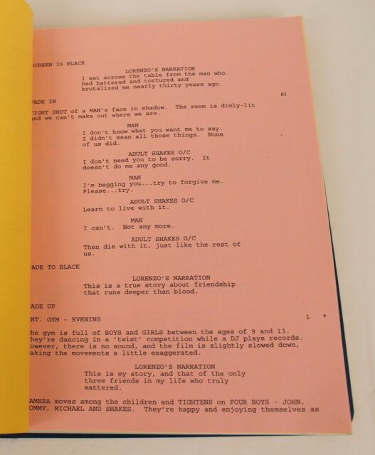 movie scripts Adult