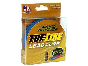 TUF-LINE-LEADCORE-TROLLING-TROUT-SALMON-FISHING-LINE-CHOOSE-SIZE