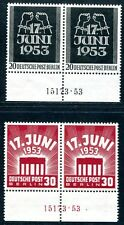 BERLIN 1953 110-111HAN ** POSTFRISCH TADELLOS HAUSAUFTRAGSNUMMER 230€(S1475