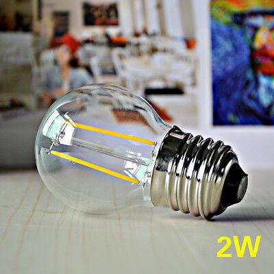 Retro Vintage E27 2/4/6/8W Edison Filament Bulb LED Lamp COB Spot Light 110/220V