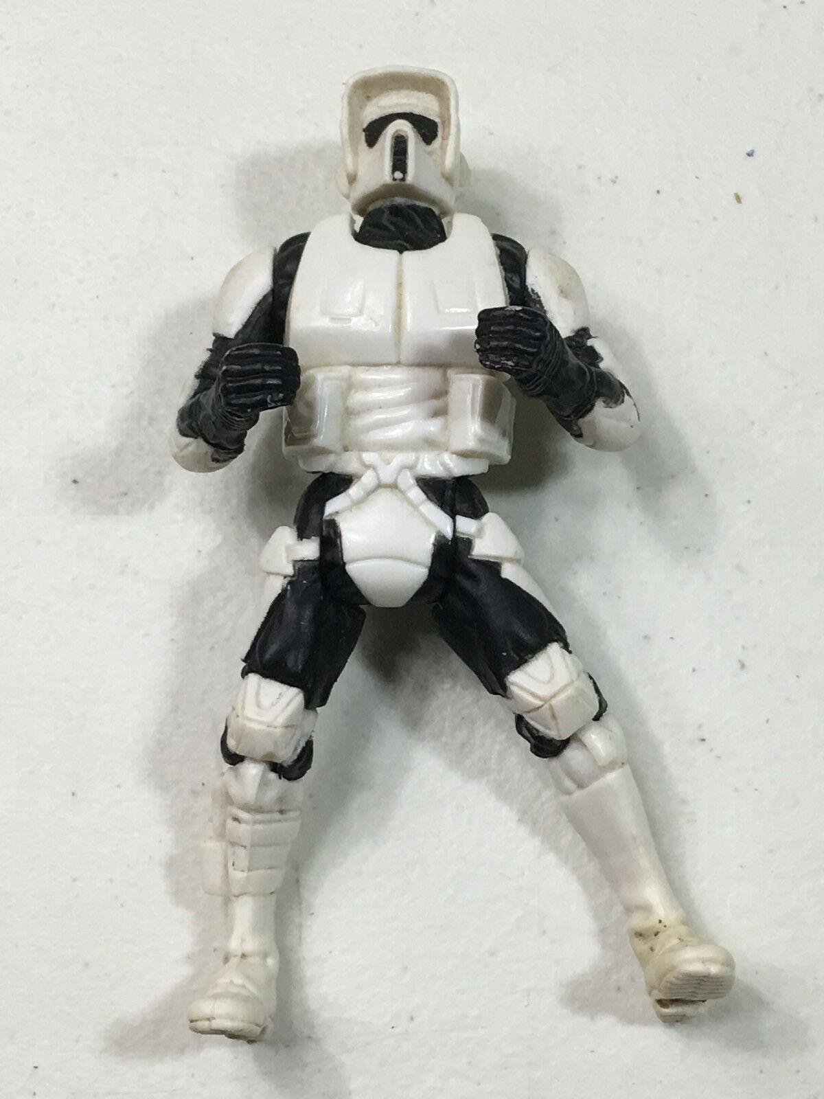 Star Wars 1995 Speeder Bike rider Imperial Scout Trooper// figure only no bike