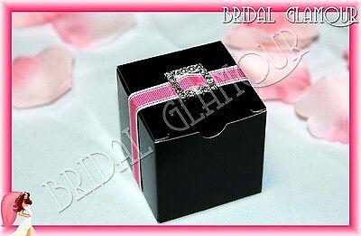 100pc-1000pc - 5x5cm Bomboniere Box Cube Wedding Favour Gift Candy Bonbonniere