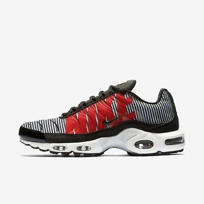 Herren Nike Air Max Plus TN SE Black White Pure Platinum Size 9 RRP £ 150 NEU | eBay