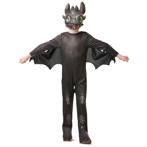 Child How to Train Your Dragon 3 Toothless Costume Night Fury The Hidden World