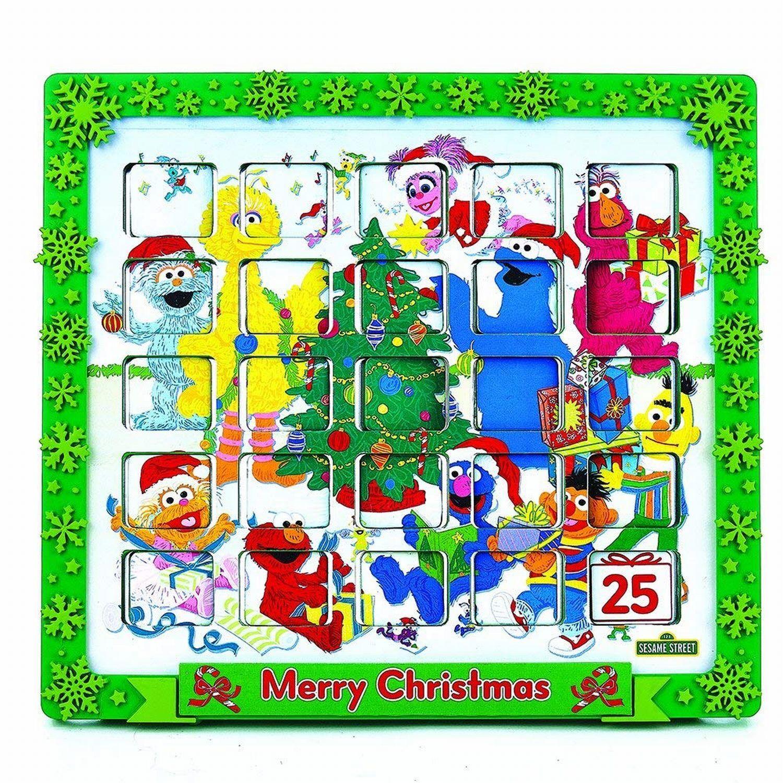 Sesame Street Tabletop  Advent Calendar Comics Countdown Countdown Countdown to Christmas 24 Doors dbc62e