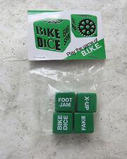 BIKE DICE GAME BMX CRUISER FREESTYLE GREEN