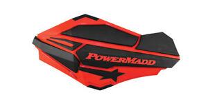 POWERMADD-2004-2016-HONDA-CRF250R-SENTINAL-HANDGUARDS-RED-BLACK-34402