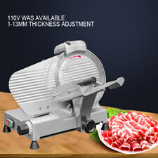 10inch Blade Semi Automatic Meat Slicer Frozen Lamb Beef Meat Slicing Machine