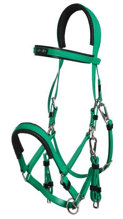 Zilco Bridle NEW Stainless Steel with Padding Marathon Bridle Zilco 349f5b