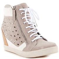 Nyla Dupree White- Multi Women's Wedge Ankle Shoes Sizes: 6-11