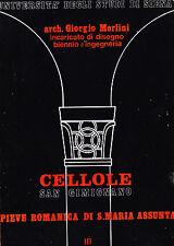 Cellole San Gimignano. Pieve romanica di S. Maria Assunta