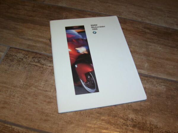 Betrouwbare Catalogue / Brochure Bmw Motorrad Gamme Motos / Motorcycle Full Line 1996 /
