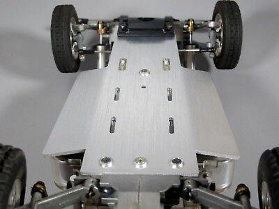 Custom Aluminum Chassis plate Tamiya 1//10 RC Sand Scorcher Buggy Champ SBR