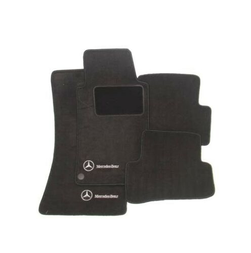 Genuine Front /& Rear Carpeted Charcoal Floor Mats Set For Mercedes W163 ML-Class