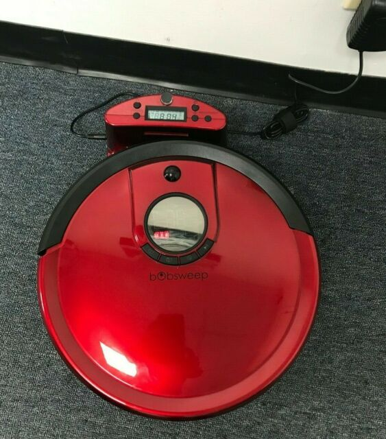 Bobsweep Standard Black Robotic Vacuum Remote Ships For