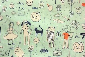 Cotton-and-Steel-Sarah-Melody-Lil-Monsters-Made-in-Japan-Cotton-Half-Metre