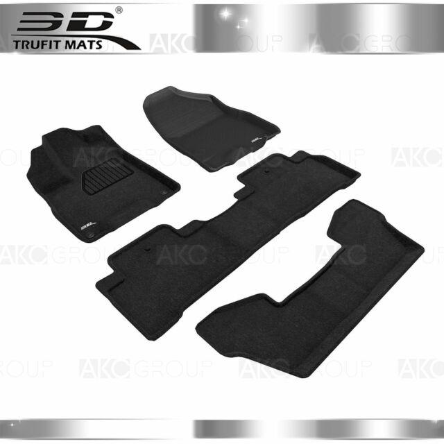 Fit 2017-2019 Acura MDX All Weather Floor Mat Set Elegant