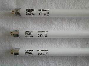 Details about DEAL of 3 x OSRAM T5 Fluorescent Tube 39W - 864mm Pin to Pin  - 840 Cool White