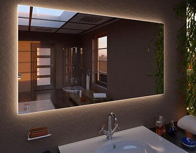 LED Spiegel CLASSIC  Wandspiegel Badspiegel  Maß nach Wunsch