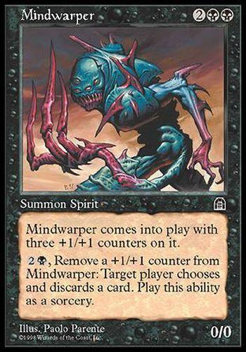 ▼▲▼ Mindwarper STRONGHOLD #064 ENGLISH Magic Distorseur cérébral