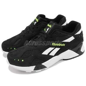 09d334247696d4 Image is loading Reebok-AZTREK-Black-White-Solar-Yellow-Men-Running-