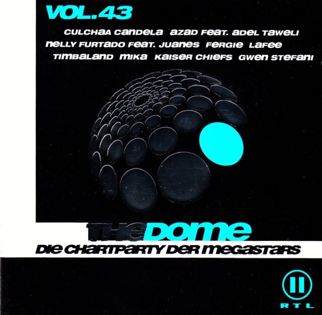 THE DOME VOL. 43 - DIE CHARTPARTY DER MEGASTARS / 2 CD-SET - TOP-ZUSTAND