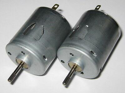 Appliance // Massager DC Motors 8500 RPM 24 VDC 2 X Mabuchi RS-365RH Motor