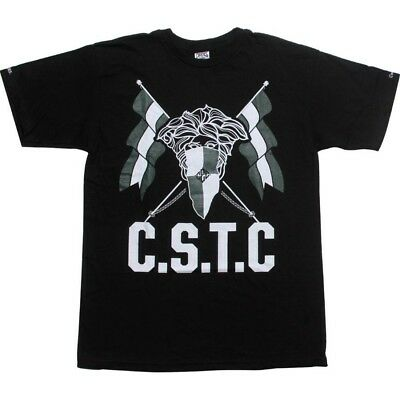 Cooperative Crooks And Castles Bandit Flag Black T Shirt 920707blk Relieving Rheumatism Men's Clothing