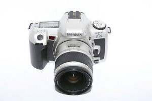 Minolta-HTSi-Plus-with-Minolta-AF-Zoom-28-80mm-f-3-5-5-6D-Lens-TESTED-Working