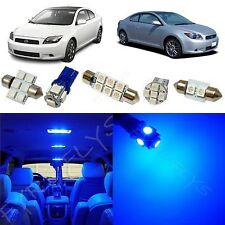 6x Blue LED lights interior package kit for 2005-2007 Scion tC ST2B