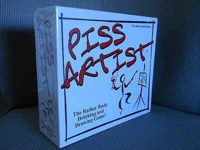 PISS ARTIST X RATED ADULT BOARD GAME RUDE DRINKING PARTY FUN STOCKING FILLER