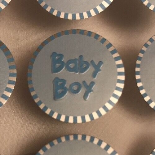 Invitations Blue Baby Shower Boy 100 Stickers Embellishments For Favors
