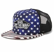 8c9782f1767 item 2 Vans Off The Wall Classic Patch Stars Stripes USA Cap Trucker Red  Blue White NWT -Vans Off The Wall Classic Patch Stars Stripes USA Cap  Trucker Red ...