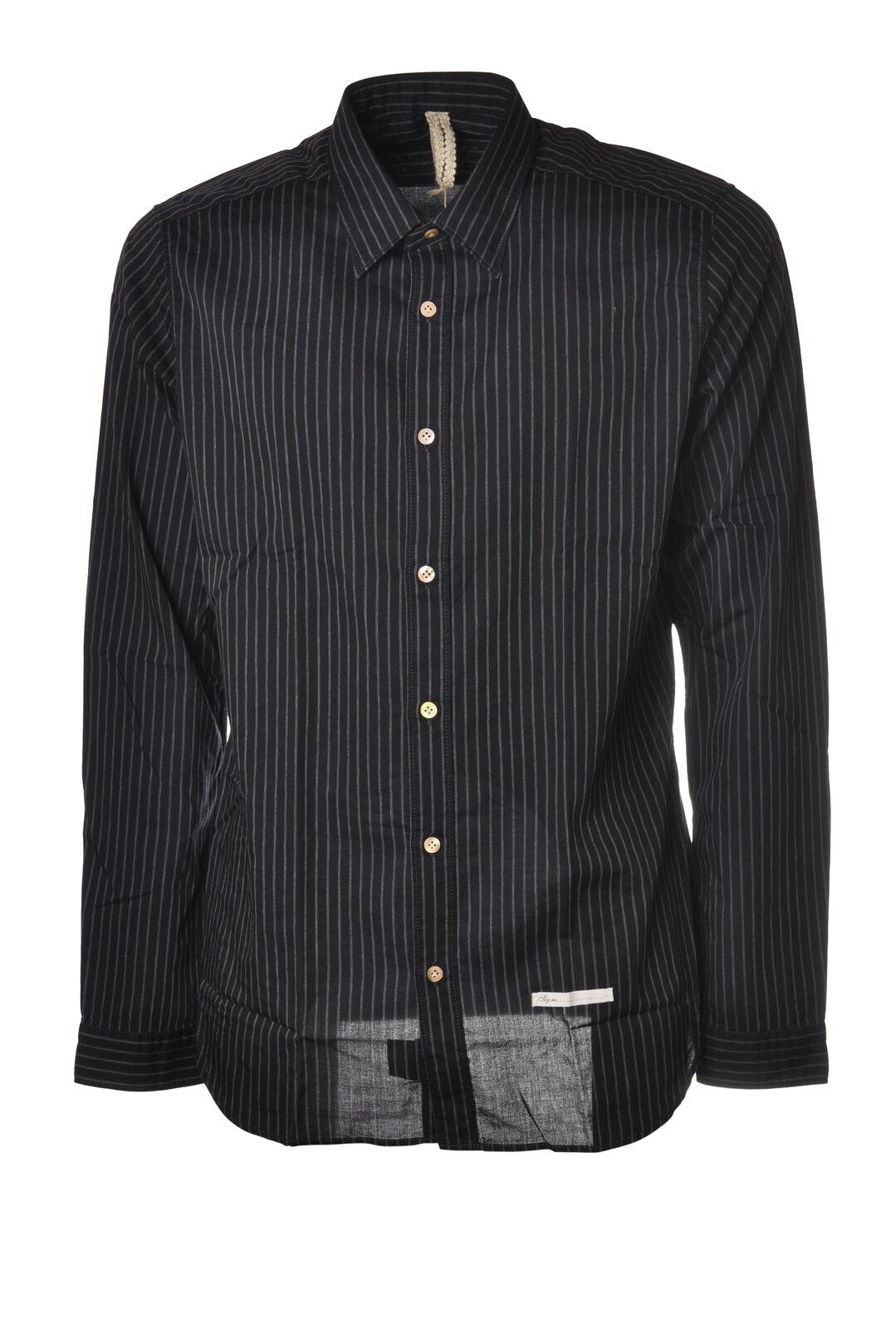 Dnl - Shirts-Shirt - Man - bluee - 5632325N184140