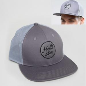 Caricamento dell immagine in corso cappello-uomo-HOLLISTER-snapback-visiera- piatta-baseball-hip- de69d6213dd7