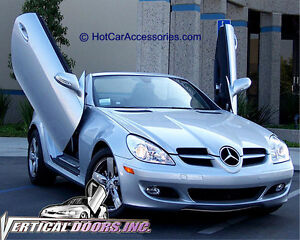 mercedes slk 2005 2010 vertical doors lambo door kit in. Black Bedroom Furniture Sets. Home Design Ideas